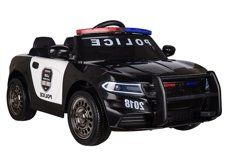 JAREX Auto na akumulator samochód Policyjny Skóra