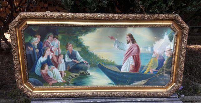 Duża rama obraz święty