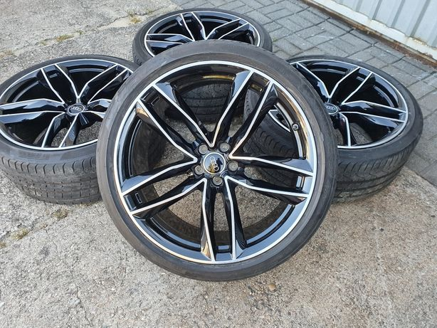 Koła Audi A6 S6 RS6 A7 S7 RS7 S-line 285/30R21 Pirelli 19r. Czujniki