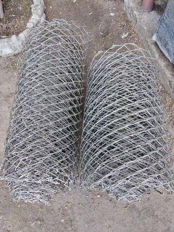 Сетка алюминиевая рабица забор
