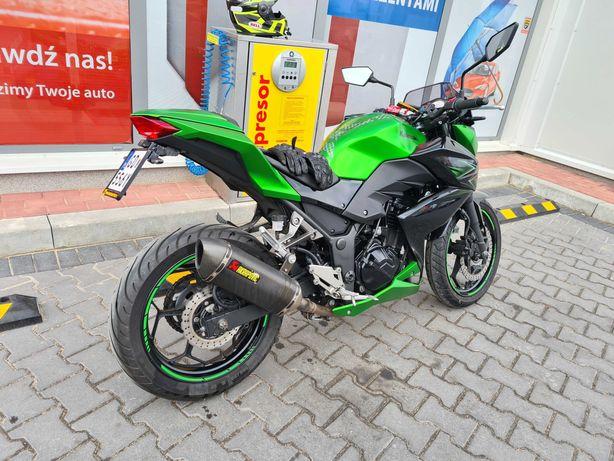 Kawasaki Z300 Stan Idealny 2016r. Piękny kolor