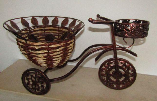 Floreira em forma de triciclo/ Porta Vasos NOVO