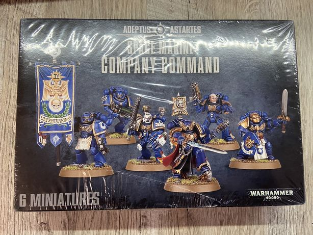 Warhammer 40K Space Marines Company Command
