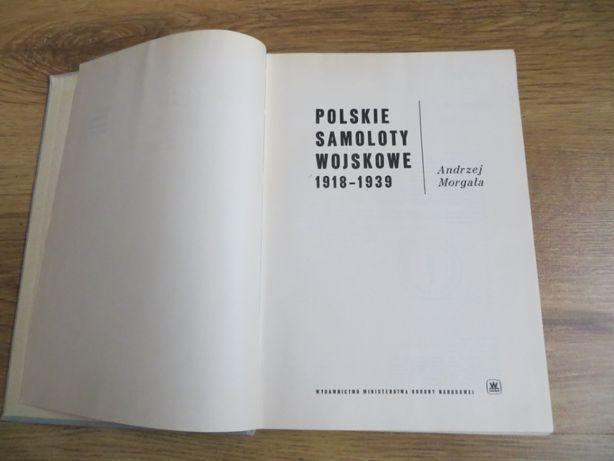 Książka Polskie samoloty wojskowe 1918-39 – Morgała