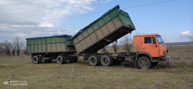 Продам КАМАЗ 55102 с прицепом ГКБ 8527