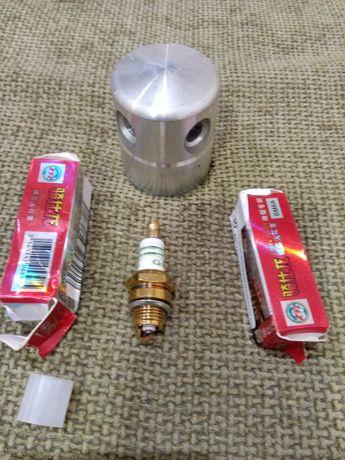 Cabeça de fio + 2 velas de roçadeira