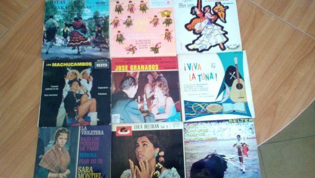 La violetera , Jotas, Tunas,Paso-Dobles, Latina anos 60.