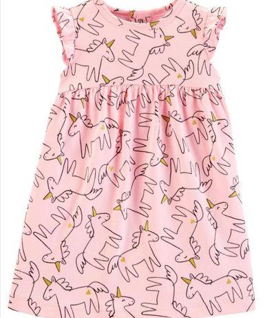 Новое платье для девочки carter's,картерс 12 m