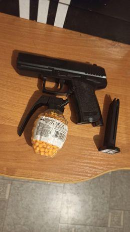 Pistolet ASG kulki gratis