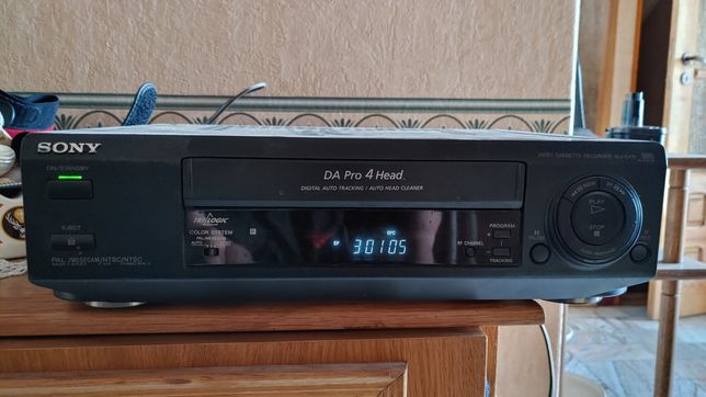 Magnetowid VHS Sony SLV-E470 DA Pro 4 Head uszkodzony