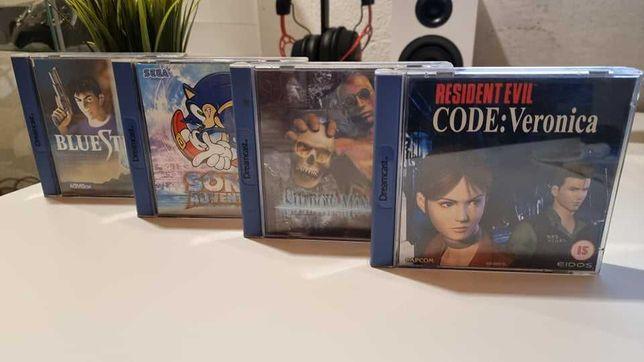 Dreamcast - Coleção de jogos