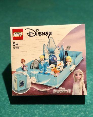 Конструктор LEGO Disney Книга приключений Эльзы 43189 холодное  сердце