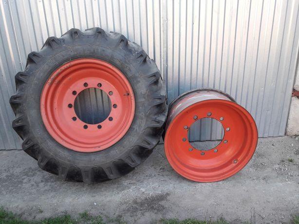 Felga felgi deutz 10 x 24 piasta 28 cm rolnicza claas traktora fendt