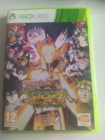 Gra Xbox 360 używana Naruto Shippuden Ultimate Ninja Storn Revolution