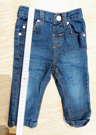 Spodnie niemowlęce 3-6m, 62-68 TU stan idealny