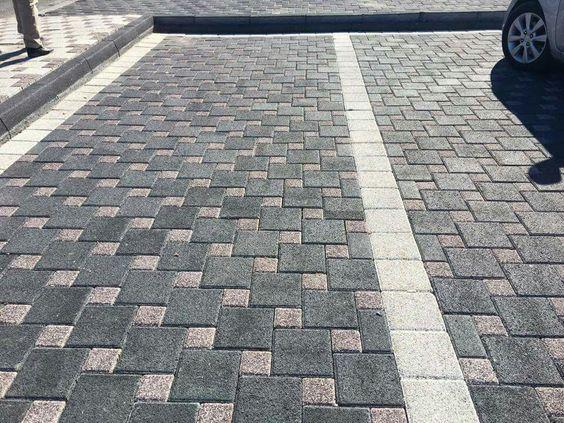 Благоустройство территорий. Укладка тротуарной плитки \ ФЭМ \