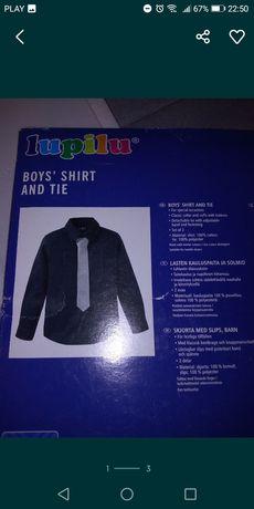 Koszula z krawatem Rozm92