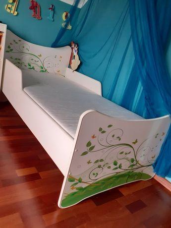 Sprzedam łóżko 185x95 z materacem