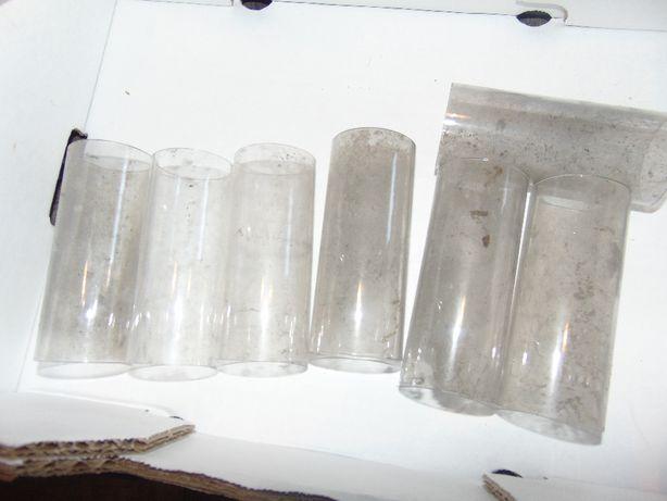 Przedwojenny klosz,kominek,rurka, śr.50 mm.wys11,7 cm.cena za 1 szt.
