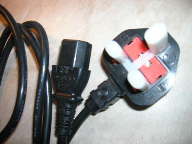 Кабель сетевой для питания ПК (+монитор,+ принтер..) 1,8 МЕТРА