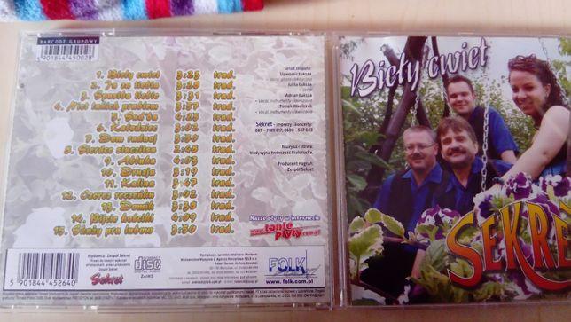 Sekret / płyta CD /Biełyj cwiet
