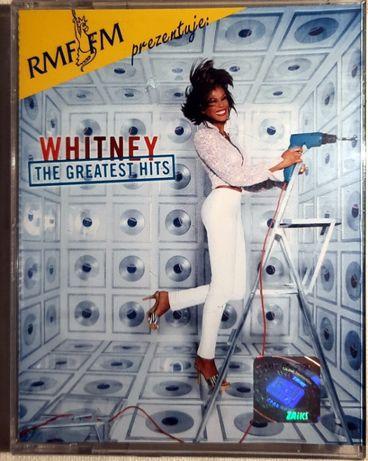 Whitney Houston, Greatest Hits, 2x kaseta magnetofonowa, nowe, w folii