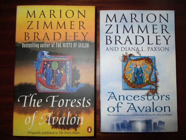 "Marion Zimmer Bradley ""The forests of Avalon"" & ""Ancestors of Avalon"""