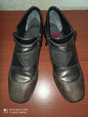 Удобные ботинки демисезон Rieker р.40