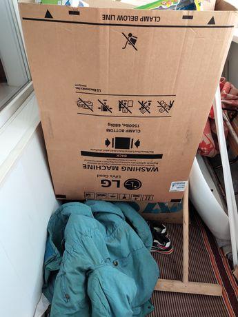 200 р.Продам большую коробку с под стиральной машины.