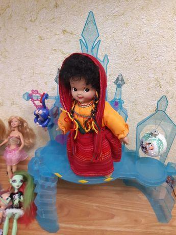 Кукла коллекционная индианка новая