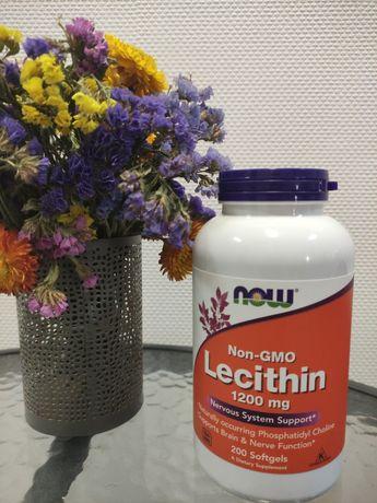 Пищевая добавка Лецитин 1200 Now Foods