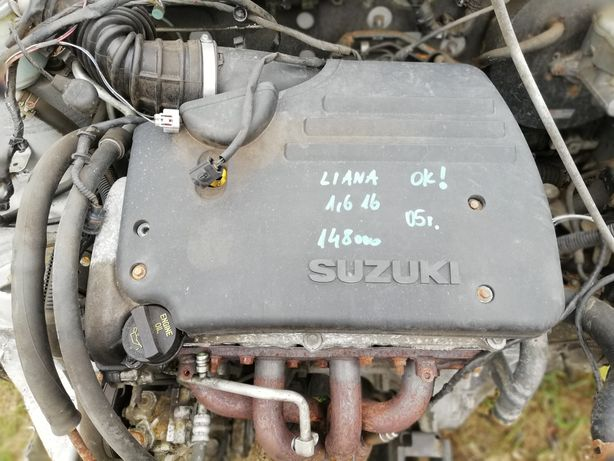 Silnik Suzuki Liana lift 04-08 1.6 16v