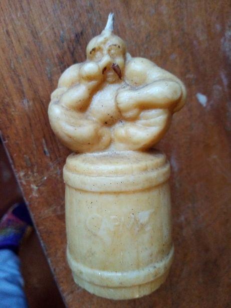Свеча восковая козак