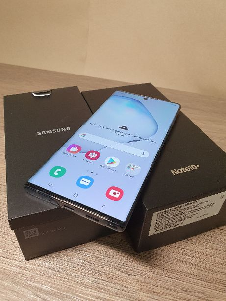 Продам Samsung Note 10+ (SM-N975) 12/256Gb Aura Black Официал+Гарантия