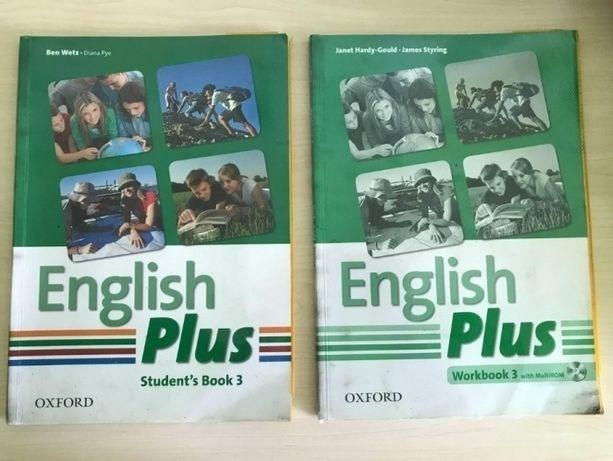 English Plus 3 Workbook+ Student's Book + CD