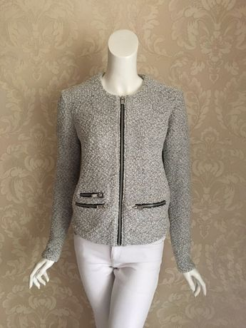 Maje оригинал дизайнерский жакет пиджак букле