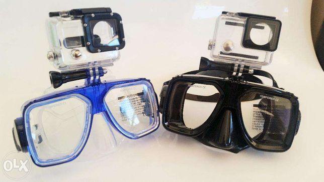 Óculos de mergulho para Gopro SJCAM Xiaomi Yi - Novo - Portes Gratis
