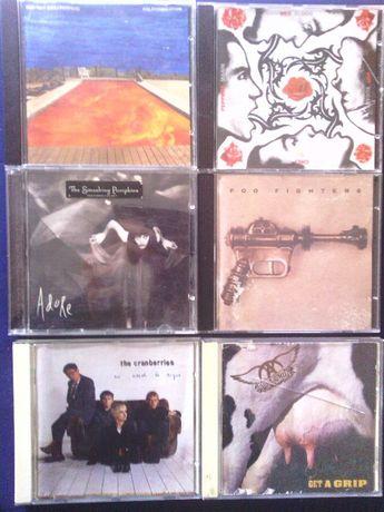 CD Originais Aerosmith Cesar Páscoa Celine Dion Megadeth Santos e Peca