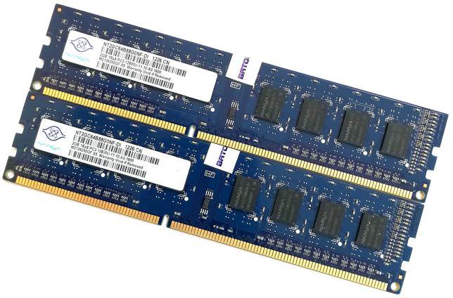 Пара оперативной памяти Nanya DDR3 4Gb (2Gb+2Gb) 1600MHz 12800U CL11