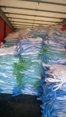Opakowania Worki Big Bag 145cm po Cukrze do Zbóż kredy pasz kukurydzy