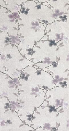 Исп. плитка Pamesa La Maison, беж Soft Marfil, сирен.цветы Grace Perla