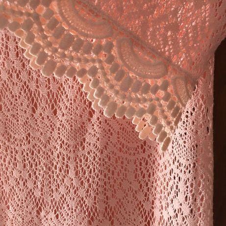 Sukienk tunika 38 koronkowa H&M