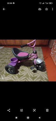 Продам детский трёхколёсный велосипед в хорошем состоянии