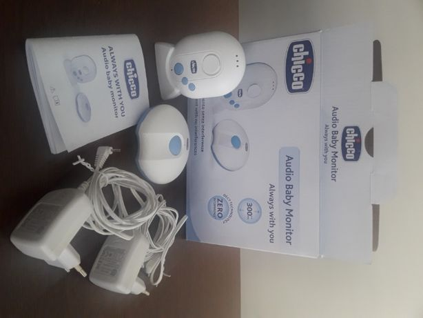 Audio baby monitor chicco