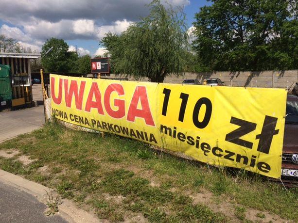 Parking strzeżony Retkinia ul. Kusocińskiego/ Juszczakiewicza promocja