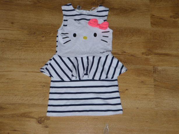 Hallo Kitty Sukuenka Z Baskinką Dziewczynka H&M 98/104 JNowa