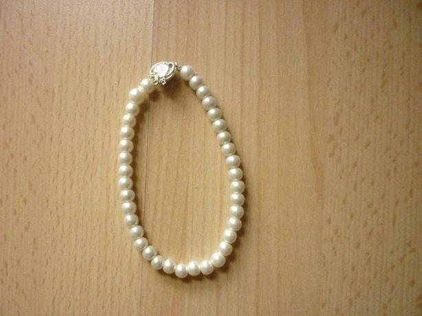 Bransoletka perły perełki
