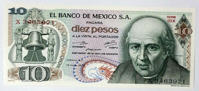 Banknot MEKSYK UNC polecam