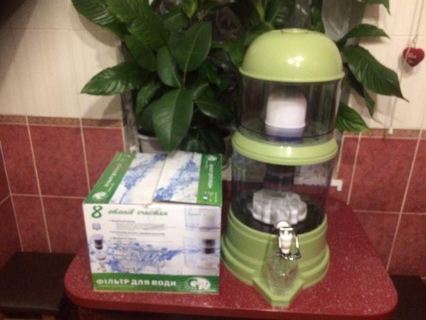 Фильтр для воды на 16 литров 8 этапов очистки Олег 380965925971