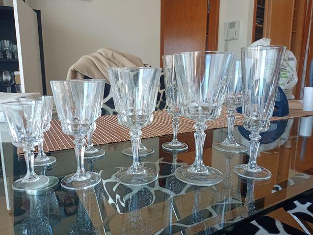 Set de copos trabalhados